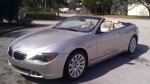2005 bmw 645i review for sale 2005 bmw 645ci convertible with navigation