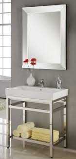 31 Bathroom Vanity 31 Inch Single Sink Console Bathroom Vanity With Choice Of Metal