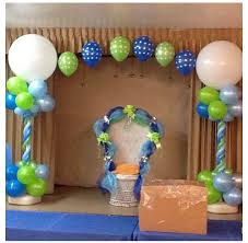 Baby Blue And Brown Baby Shower Decorations Bears And Dots Baby Shower Party Ideas Babies Babyshower And