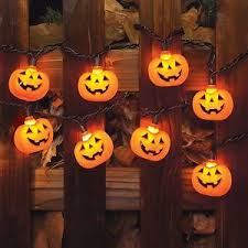 halloween yard decor party decoration outdoor pumpkin lights set