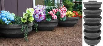 self watering vertical planters amazon com good ideas ecg3 san english composting garden bin
