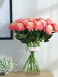 wedding bouquets cheap cheap silk bridal bouquets lightinthebox