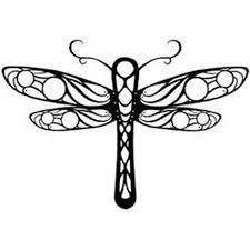 tribal dragonfly tattoo design tattoos book 65 000 tattoos designs