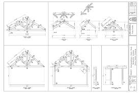 Fontainebleau Floor Plan Fontainebleau State Park King Post Truss Pavilion