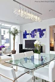 dining room table decor ideas contemporary dining room with an and modern feel thanks to