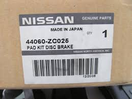 nissan genuine accessories canada new genuine rear disc brake pads oem for 2005 14 nissan titan