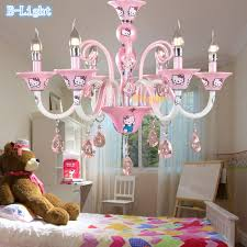 Pink Chandelier Burleson Baby Pink Chandelier 3 Light Crown Chandelier Pink Baby And Kids