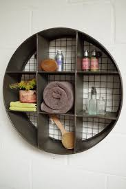 small round metal wall shelf u2013 vincent and barn