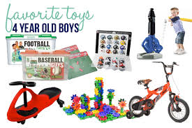 favorite toys for 4 year boys