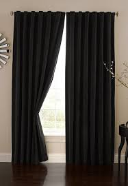 Eclipse Curtains Thermalayer by Amazon Com Absolute Zero 11718050x095bk Velvet Blackout Home