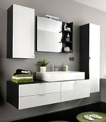 möbel für badezimmer bad möbel badezimmer set weiss hochglanz und grau waschtisch