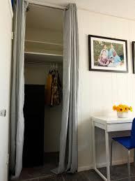 curtains closet curtain ideas decor bedroom closet without doors