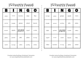 bingo game worksheet generator