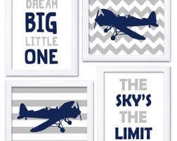 airplane nursery art etsy