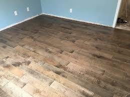 Holloway Hardwood Floor Polish by Bison Ridge Distressed Maple Engineered Hardwood Flooring From