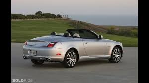 lexus convertible sc430 lexus sc 430 pebble beach edition