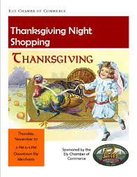 Date Of Thanksgiving 2009 Events Ely Chamber Of Commerce