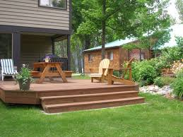 decking designs for gardens 1000 ideas about low deck designs on