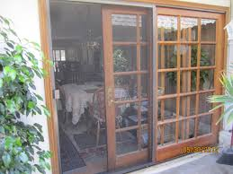 Wood Patio French Doors - patio french doors with screens home outdoor decoration