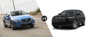 mazda official mazda cx 3 vs jeep cherokee
