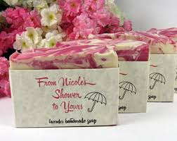 personalized bridal shower favors bridal shower soap etsy