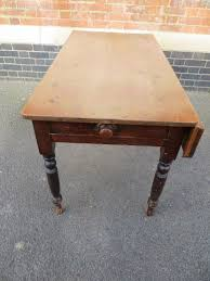 Pine Drop Leaf Table Antique Victorian Pine Drop Leaf Table Antiques Atlas