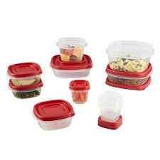 Gift Wrap Storage Containers Rubbermaid Amazon Com Rubbermaid Easy Find Lids 20 Piece Food Storage