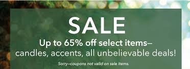 yankee candle sale deals