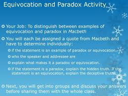 ppt definition of equivocate powerpoint presentation id 2433343