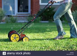 manual mower stock photos u0026 manual mower stock images alamy