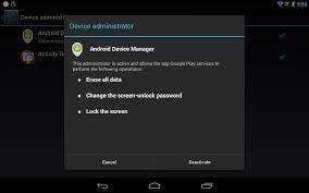 how to reset android phone how to enable disable erase device option on android phone tablet