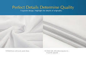 home design waterproof mattress pad cylen home dupont certified bamboo infused luxury viscose rayon