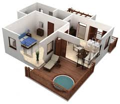 one bungalow house plans one bedroom bungalow house plans escortsea