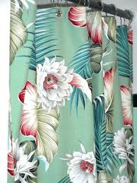 hawaiian shower curtains attractive shower curtains designs with
