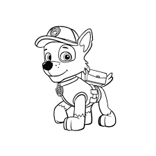 nick jr coloring pages online free paw patrol coloring pages