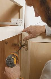 how to install hinges on corner cabinets what s the difference degree of opening homebuilding