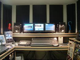 Recording Studio Layout by Rehearsal And Recording Studios Directory