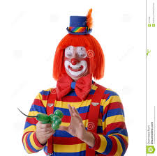 clown balloon l circus clown stock photos image 1577923