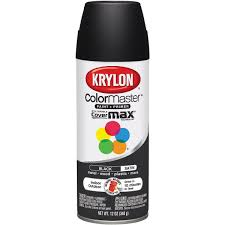 amazon com krylon 51613 satin black interior and exterior