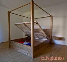 letto matrimoniale a baldacchino legno letto a baldacchino in legno uruenavilladellibro info