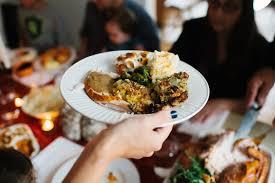 thanksgiving traditional thanksgiving menu image