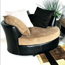 swivel leather chairs living room round swivel lounge chair zipusin co