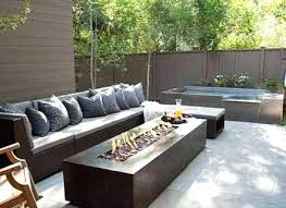 Contemporary Outdoor Sofa Modern Outdoor Fire Pits U2013 Jackiewalker Me