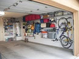 Garage Ceiling Storage Systems by Interesting 3 Car Garage Storage Ideas Interior Pictures And