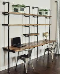 bureau d 騁ude industriel idées de décoration d un bureau style industriel archzine fr