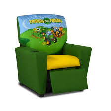 john deere kids recliner with cup holder u0026 reviews wayfair