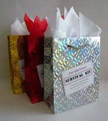 birthday present ideas for 21st birthday survival kit for gift idea novelty