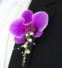 Orchid Boutonniere Prom And Wedding Boutonnieres Buttonhole Flowers Prestige