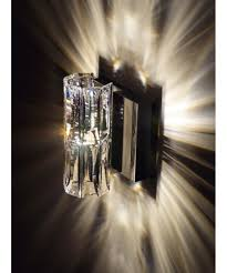 Crystal Wall Sconces by Swarovski A9950nr700254 Verve 4 Inch Wide Wall Sconce Capitol