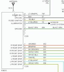 2000 isuzu rodeo radio wiring diagram 2000 wiring diagrams